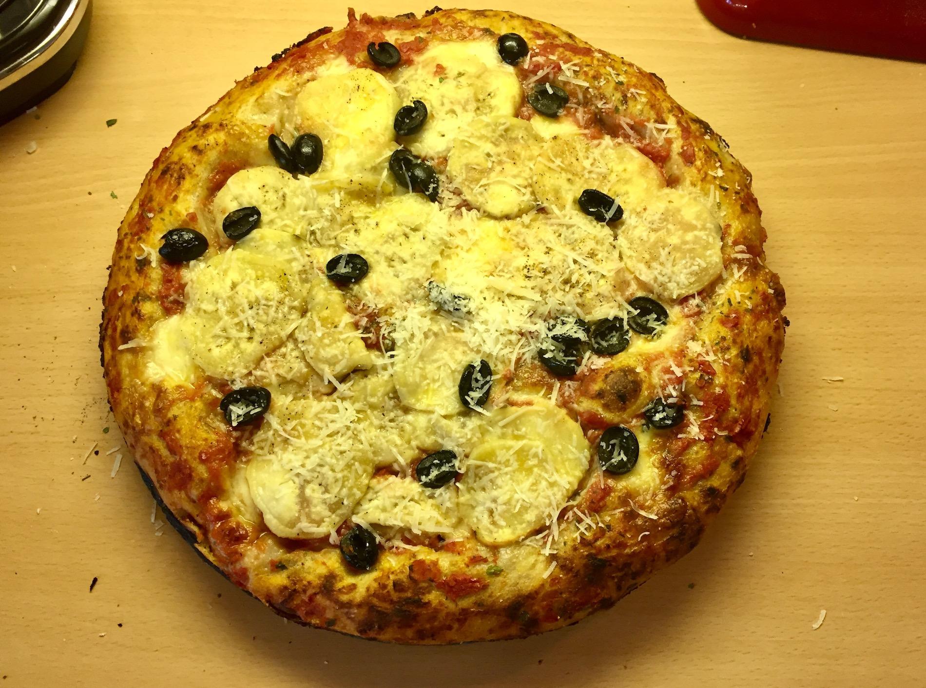 Vaivaamaton pannupizza