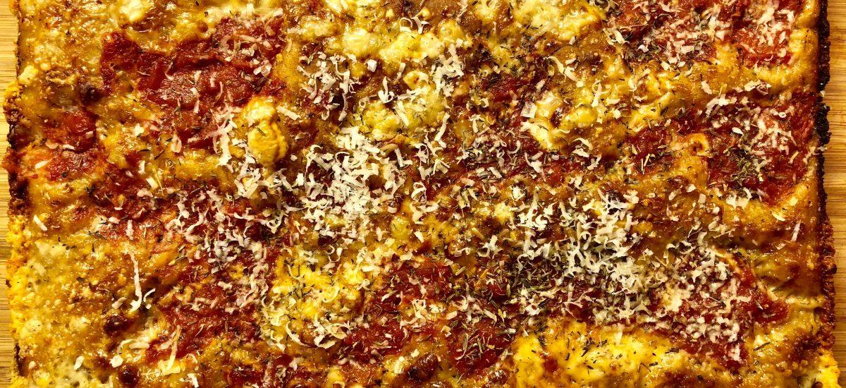 Detroit Red Top – Motor Cityn klassinen pannupizza