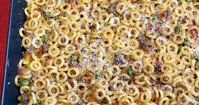 Sisilialainen uunipasta Anelletti al forno